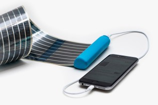 Charge Your Phone Anywhere With This Retractable Solar Panel Battery