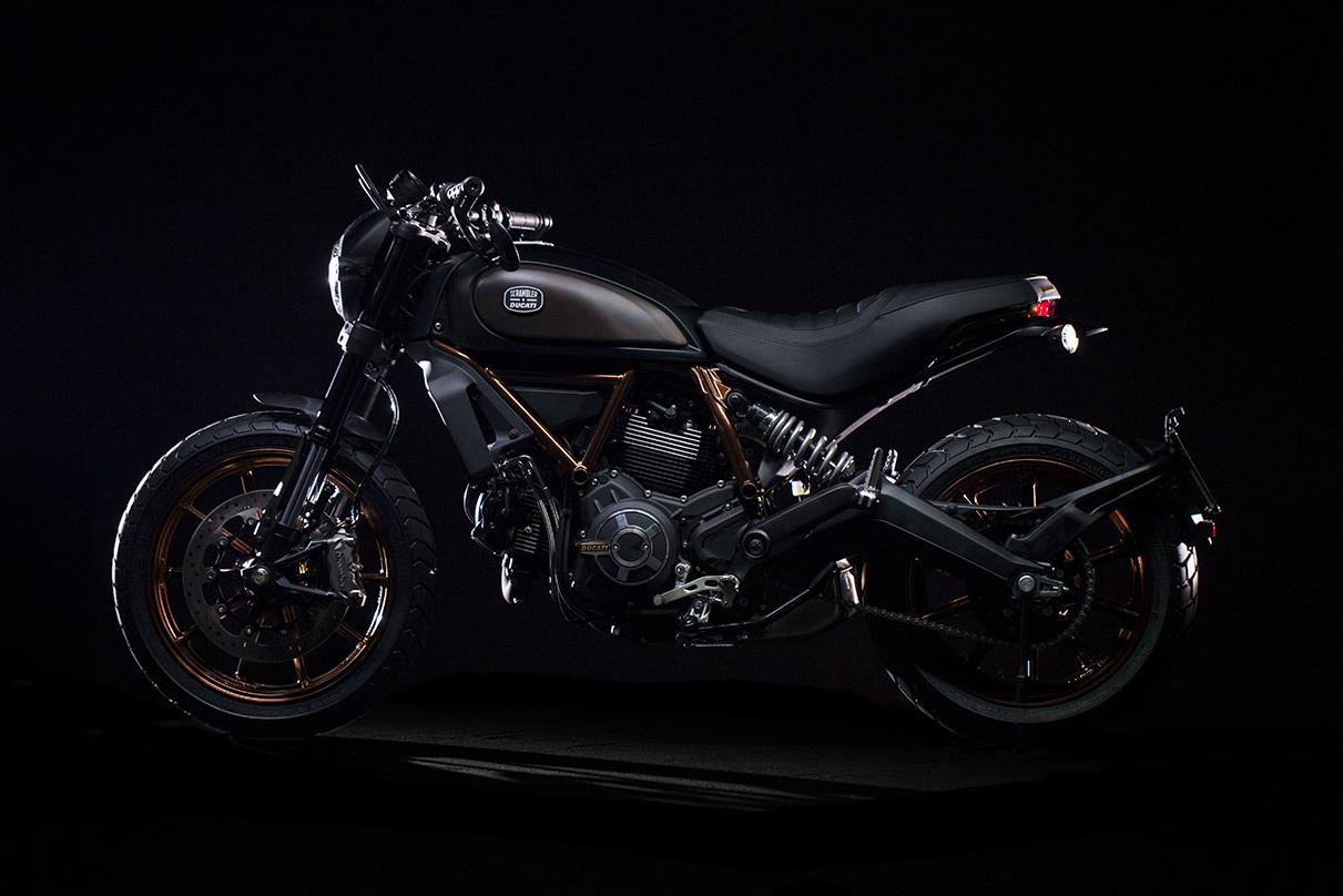 Italia Independent & Ducati Unveil a Limited Edition Scrambler