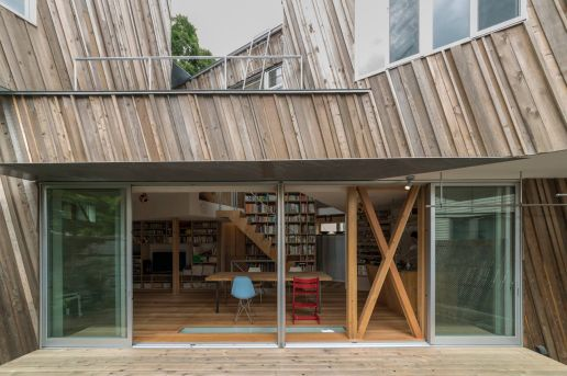 This Modern Japanese Home Is Made From Recycled Timber