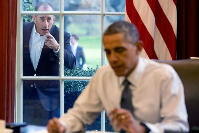 Jerry Seinfeld's Comedians in Cars Getting Coffee With President Barack Obama