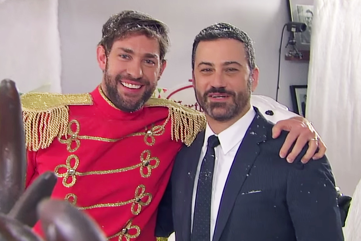 The John Krasinki and Jimmy Kimmel Prank War Continues