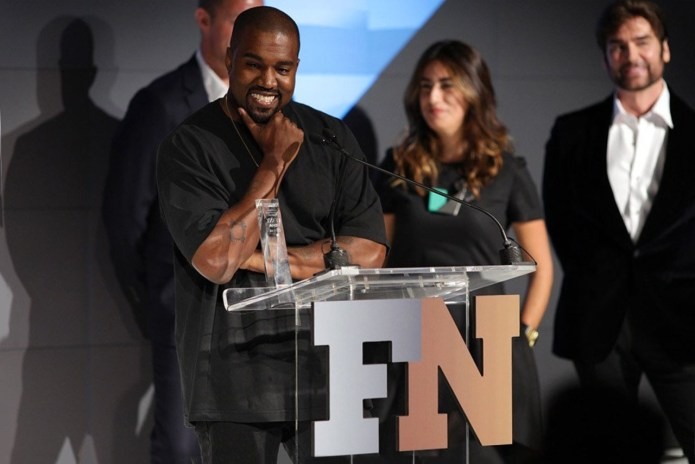 Watch Kanye West's 'Shoe of the Year' Acceptance Speech at the FN Achievement Awards