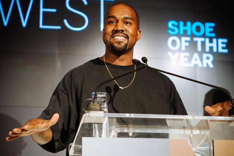 """Kanye West Wins FNAA """"Shoe of the Year"""" Award for the Yeezy Boost"""