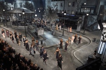 Karl Lagerfeld Brings Paris to Rome for Chanel's 2016 Fall/Winter Preview