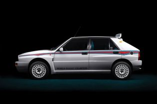The Lancia Delta HF Integrale Is a Retro Celebration of Rally