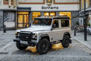 Land Rover Takes Over London Ahead of Auction for Two Millionth Defender