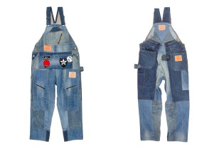 Levi's® and DRx Romanelli Collaborate for a Set of Stunning Denim Overalls