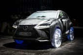 Lexus Puts Wheels of Ice on Its NX Luxury Crossover