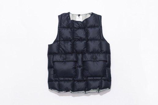 Maiden Noir x Crescent Down Works Custom Vest