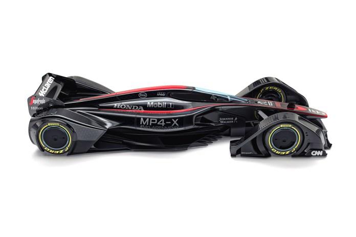 McLaren MP4-X Concept: The Final Word in Conceptual Design