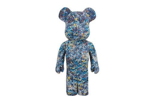 Medicom Toy Introduces Jackson Pollock Bearbricks