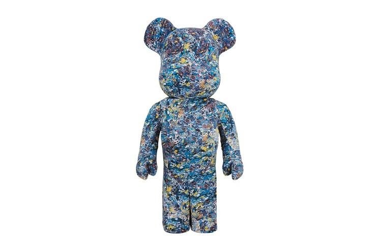 Medicom Toy Introduces Jackson Pollock Bearbricks