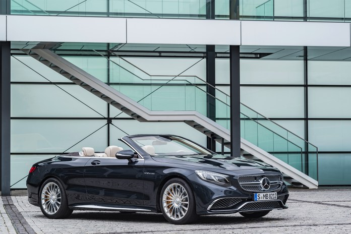 Mercedes-AMG Takes the Top off the S65