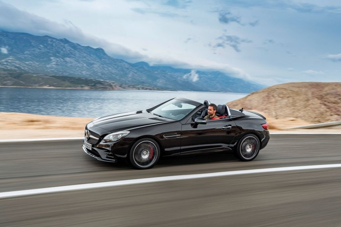 The New Mercedes-Benz 2017 SLC Replaces SLK Variants
