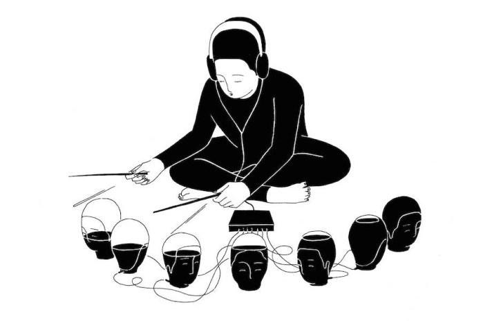 Moonassi Takes November's Kitsuné Hot Stream Illustrations
