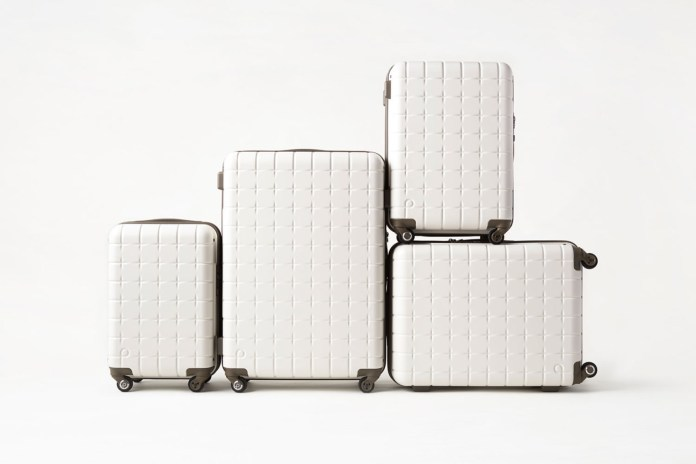 nendo x Protecta Celebrate 10 Years With New Luggage Collection
