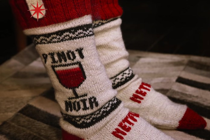 Netflix Takes the DIY Route With Some Usable Socks