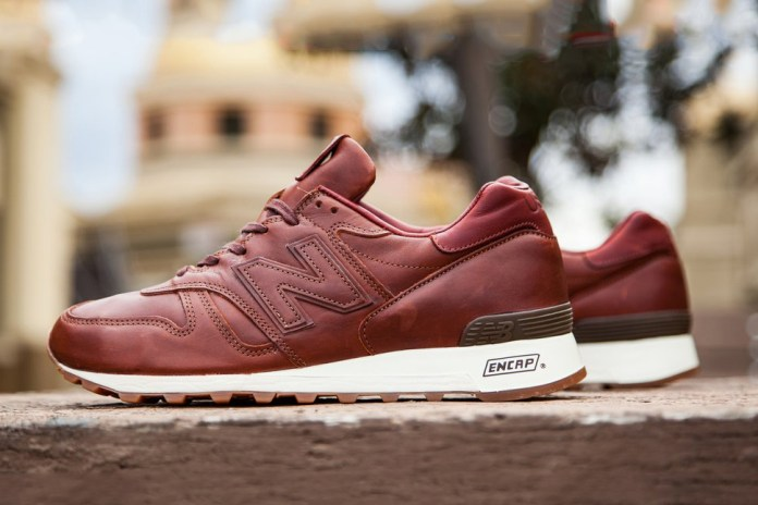 This Luxe New Balance 1300 Retro Is Made of Horween Leather