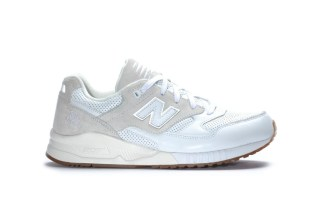 "New Balance M530 ATA ""White/Blue"" Blends Premium Material With Clean Tones"