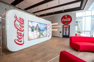 Take a Look Inside Coca-Cola's New Office in Paris