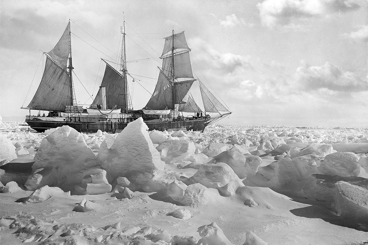 Newly Restored Photos Offer Intimate Look at Doomed Shackleton Expedition to Antarctica