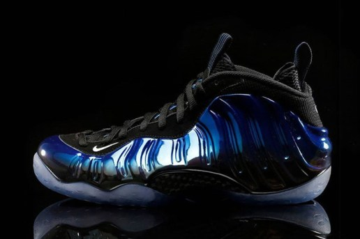 "Nike Air Foamposite One ""Blue Mirror"""