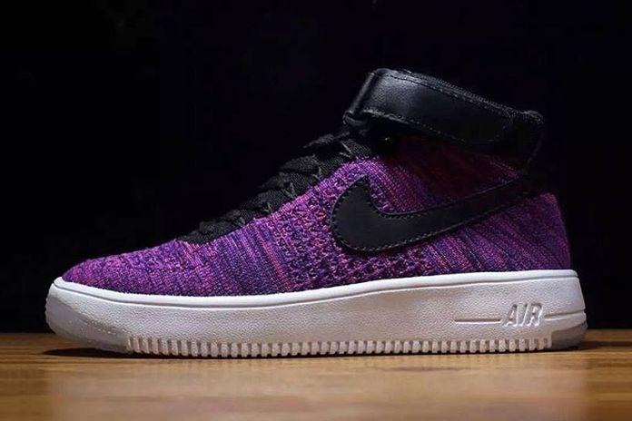 """Nike Air Force 1 Flyknit """"Purple"""""""
