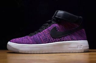 "Nike Air Force 1 Flyknit ""Purple"""