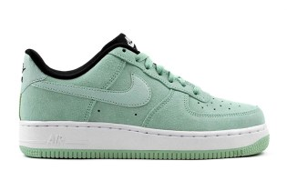 Nike Drops the Air Force 1 Low Suede in Two Pastel Colorways