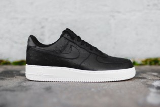 This New Nike Air Force 1 '07 LV8 Is Made With Ostrich Skin