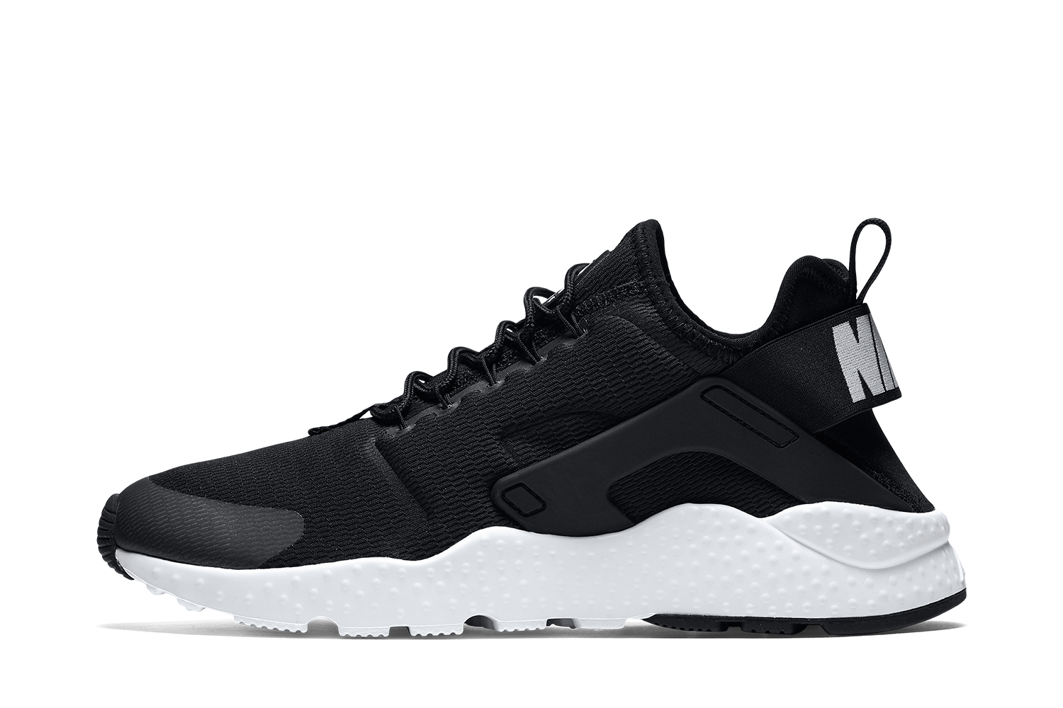 Huaraches Shoes Black And White
