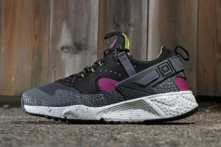 "Nike Air Huarache Utility ""Berry/Gray"""