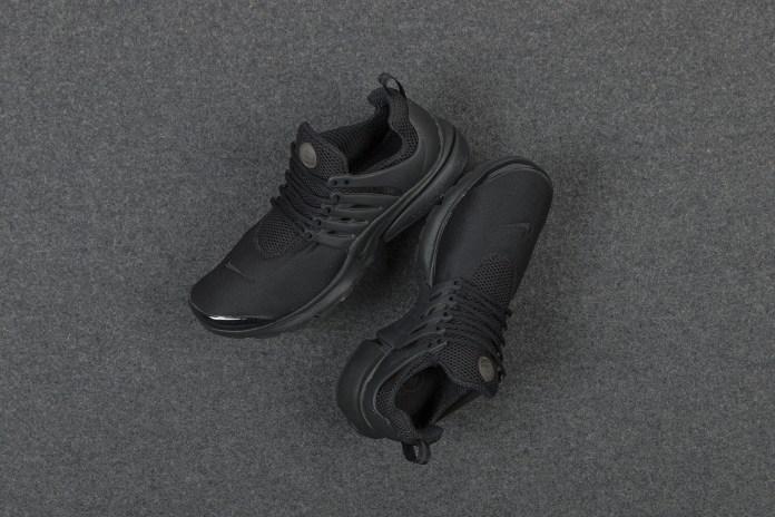 """A Closer Look at the Nike Air Presto """"Triple Black"""""""