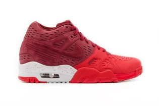 Nike Air Trainer 3 LE Maroon/Red & Gray/Black