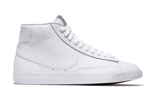"Nike Blazer Mid PRM VNTG ""Triple White"""