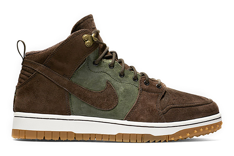 Nike Dunk CMFT Sneakerboot Brown/Olive