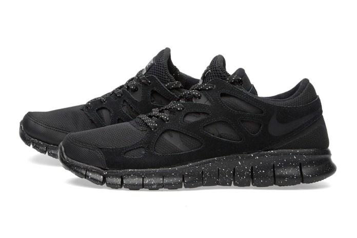 Nike Free Run 2 Premium Black/Metallic Pewter