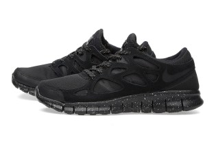 Nike Free Run 2 Premium Black/Metallic Pewter