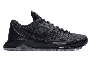 "Nike's KD 8 Gets the ""Blackout"" Treatment"