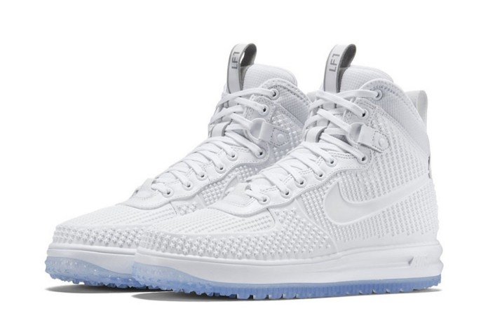 Nike's Lunar Force 1 Duckboot in White Is up Next