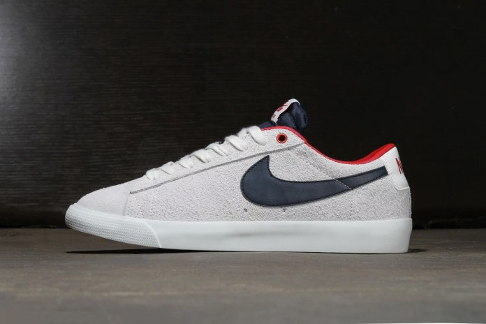 Nike SB Blazer Low GT Summit White/Obsidian-University Red
