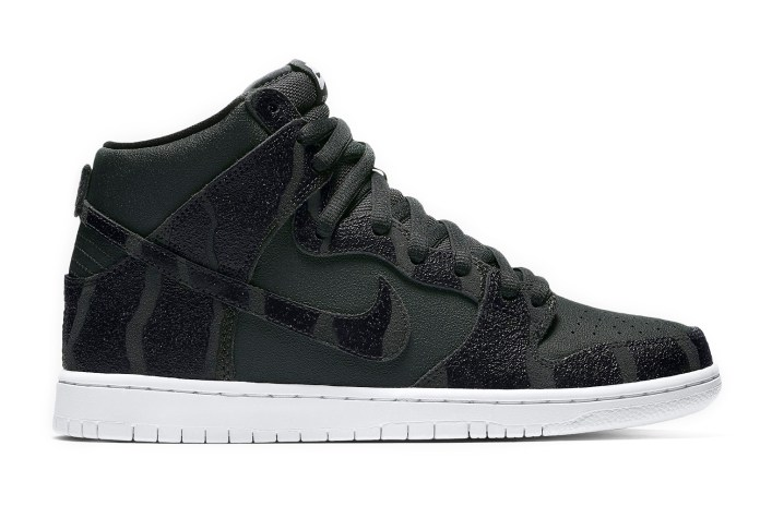 "Nike SB Dunk High Pro ""Griptape"" Embodies Its Skateboarding Roots"