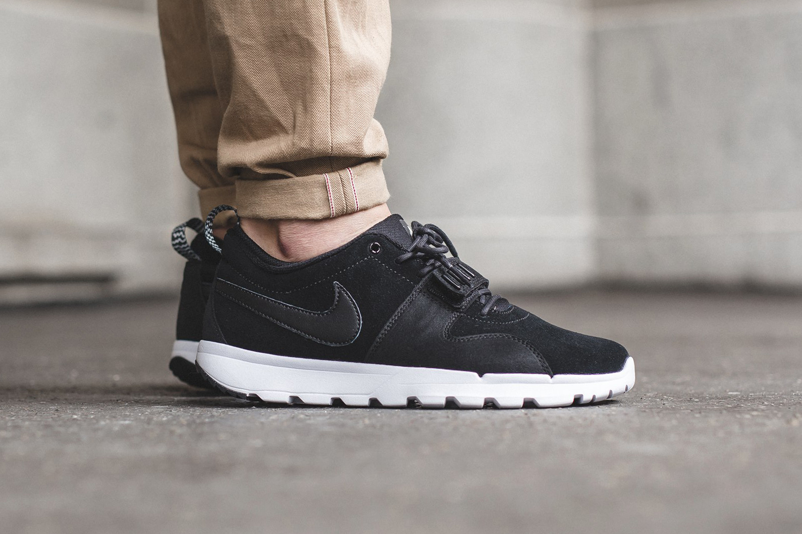 Nike SB Trainerendor Black/Black-White
