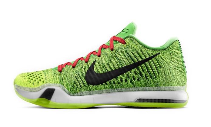 NikeID to Add Green Multicolor Option for Kobe X Elite