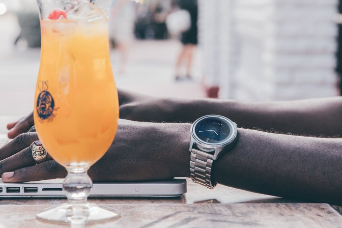 One Day at Art Basel: A Narrative Editorial With the Olio Connected Watch