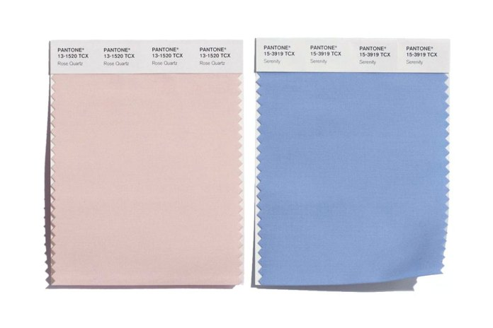 Pantone Names Two Colors as Color of the Year 2016