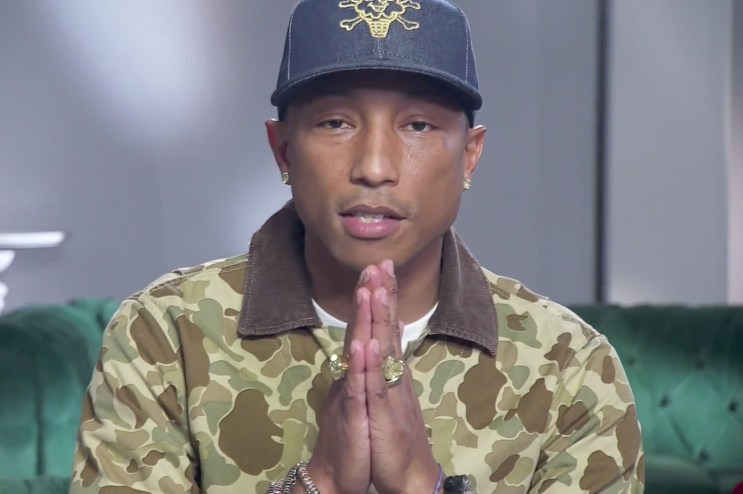 Watch Pharrell's 'Collaboration of the Year' Acceptance Speech