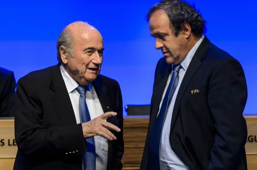 FIFA's Sepp Blatter and UEFA's Michel Platini Banned From Football for Eight Years