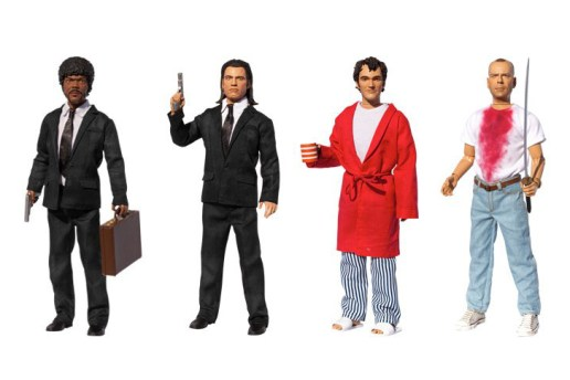 These 'Pulp Fiction' Action Figures Recite All Your Favorite Explicit One-Liners