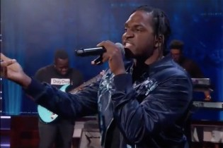 "Pusha T Premieres New Song ""Sunshine"" on 'The Daily Show with Trevor Noah'"